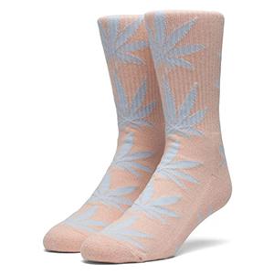 HUF Melange Plantlife Socks Coral Haze