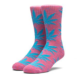 HUF Melange Plantlife Socks Magenta