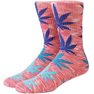 HUF Melange Plantlife Socks Pink