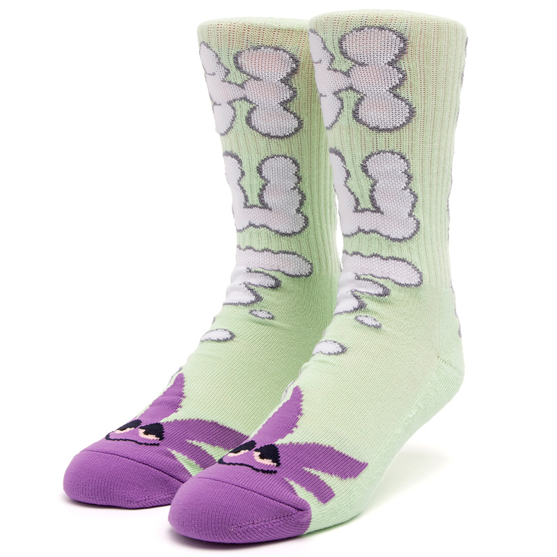 HUF N Puff Buddy Socks Mint