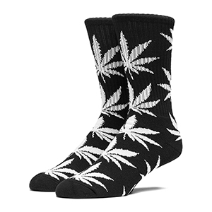 HUF Plantlife Crew Socks Black