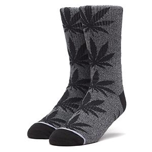 HUF Plantlife Kush Melange Socks Black