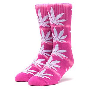 HUF Plantlife Lightning Wash Socks Pink