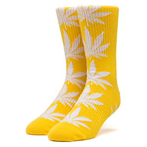 HUF Plantlife Socks Mineral Yellow