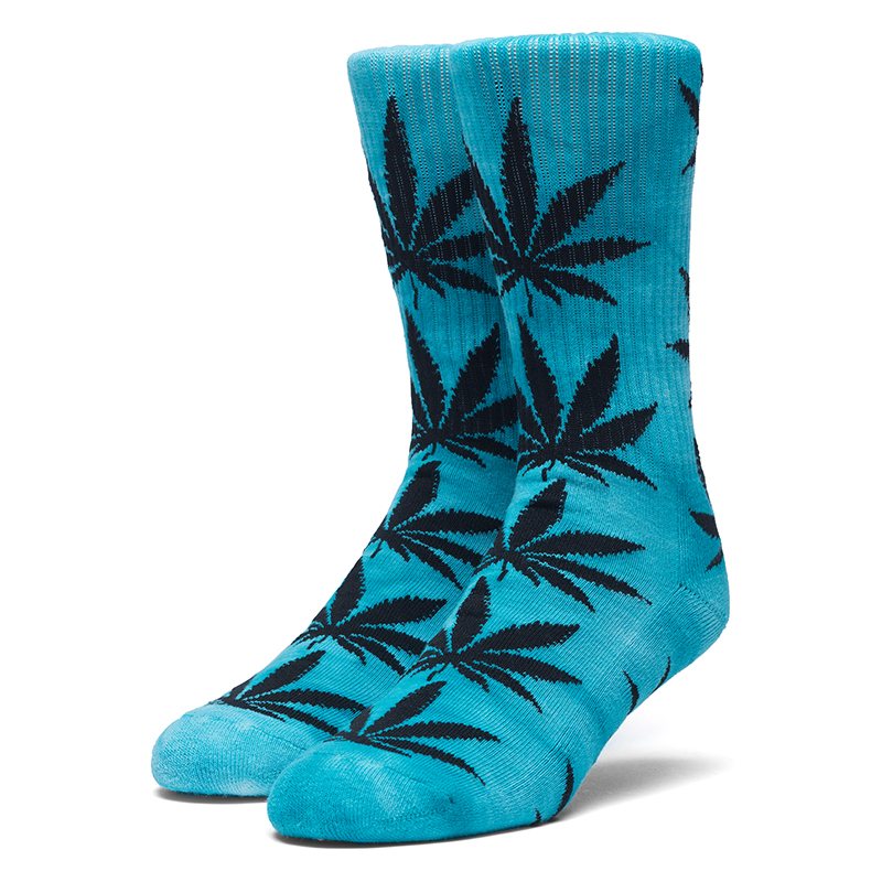 HUF Plantlife Tie Dye Crew Socks Jade