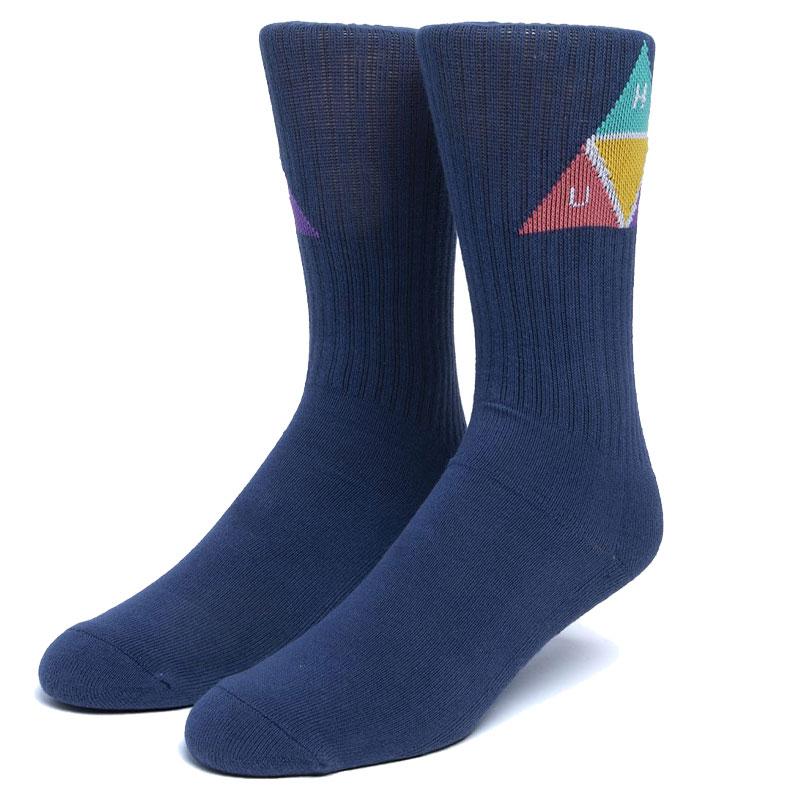 HUF Prism Socks French Navy