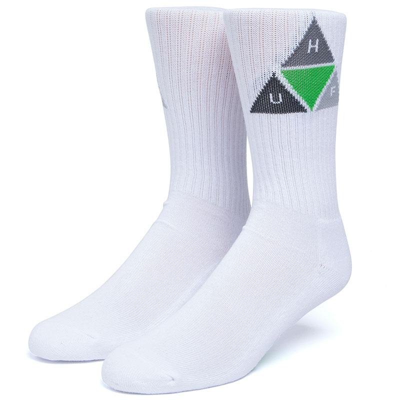 HUF Prism Socks White
