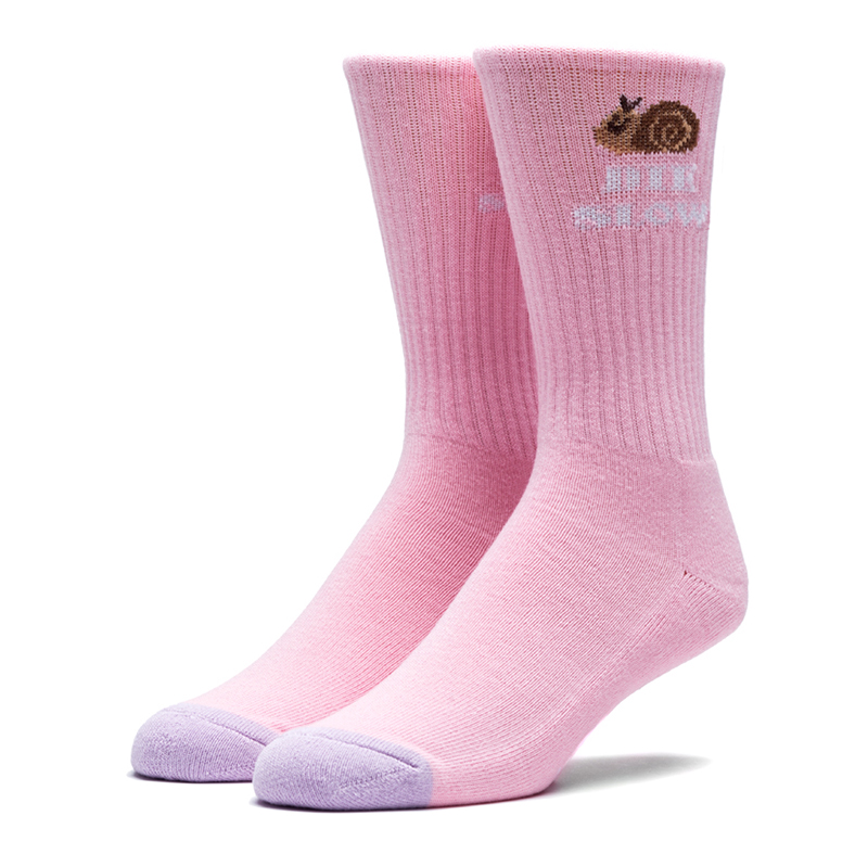 HUF Snail Cute Socks Pink/Purple