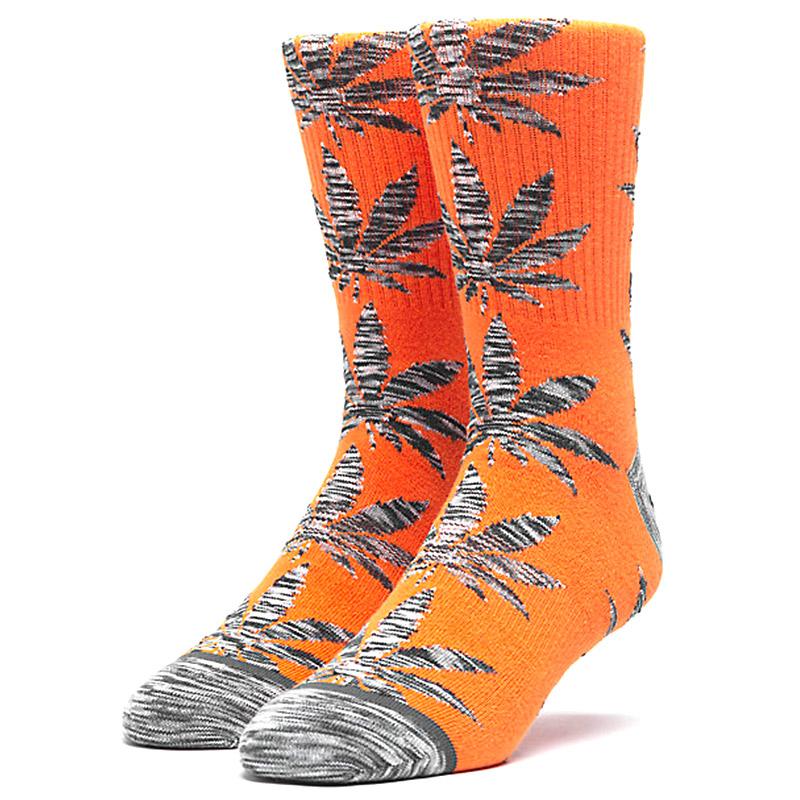 HUF Space Dye Leave Plantlife Socks Russet Orange