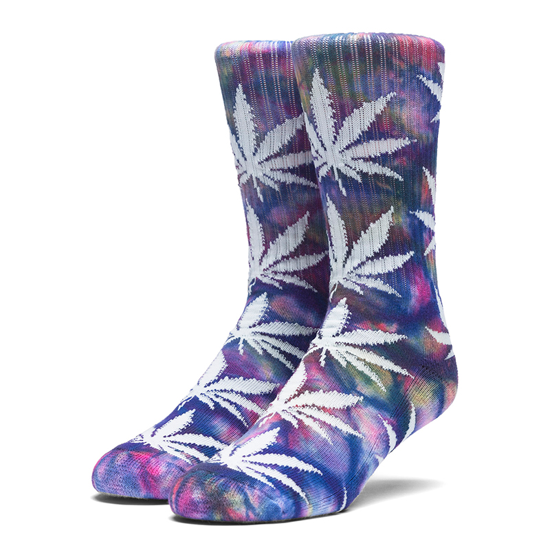 HUF Tiedye Plantlife Socks Multi