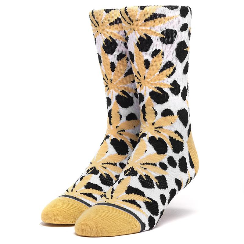 HUF Wildlife Plantlife Socks White