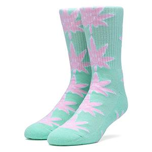 HUF X 420 Plantlife Mr. Nice Guy Socks White