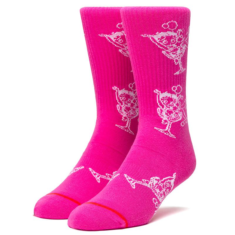 HUF X Betty Boop Martini Socks Hot Pink