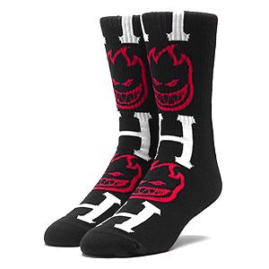 HUF X Spitfire Bighead H Socks Black