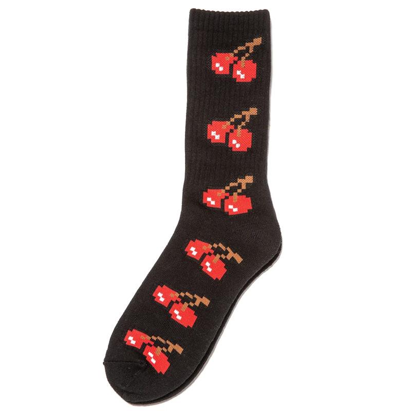 Lakai 8-Bit Socks Black