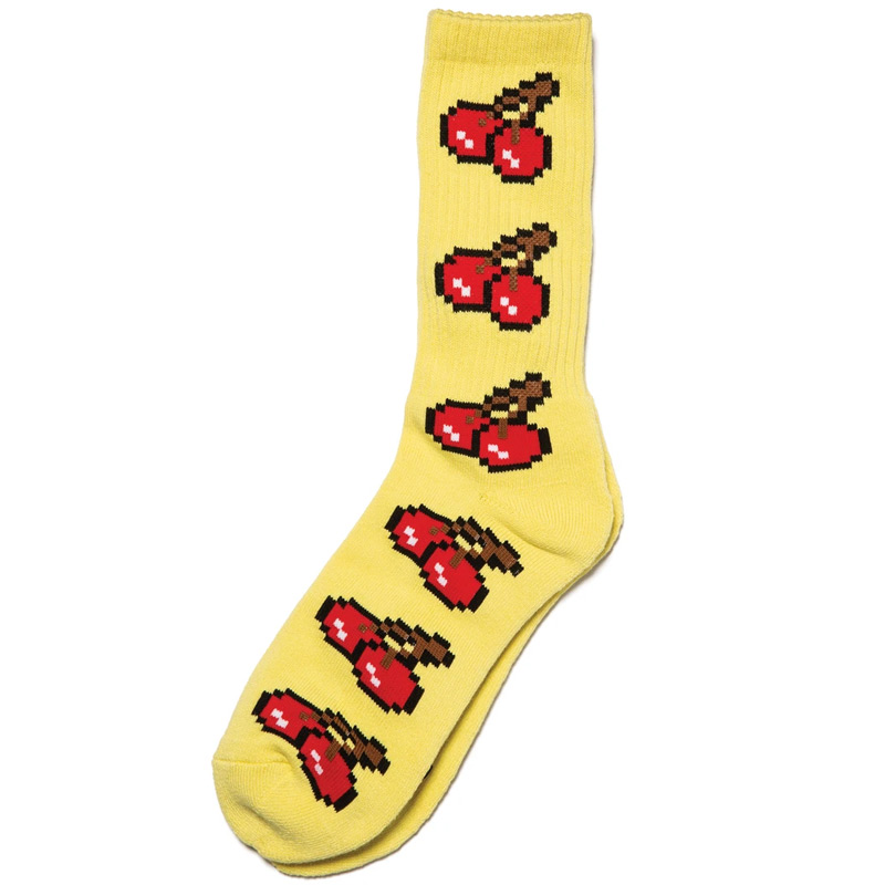 Lakai 8-Bit Socks Yellow