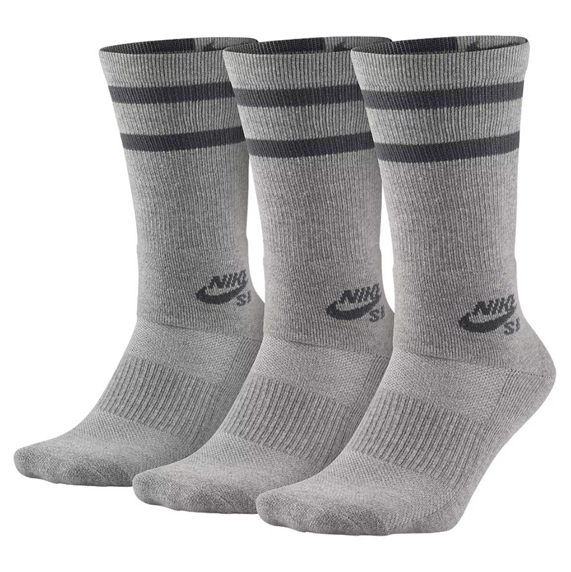 Nike SB Crew Socks Dark Grey Heather/Dark Grey