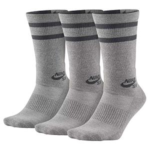 Nike SB Crew Socks Dark Grey Heather/Dark Grey