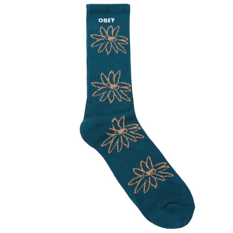 Obey Natty Socks Deep Ocean