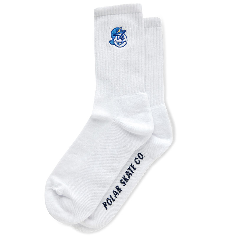 Polar 93 Socks White