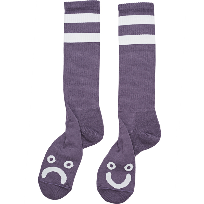 Polar Happy Sad Classic Sock Lilac