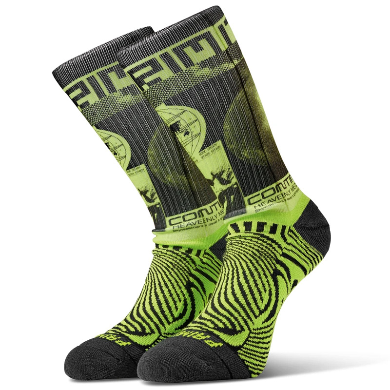 Primitive Perception Socks Safety Green