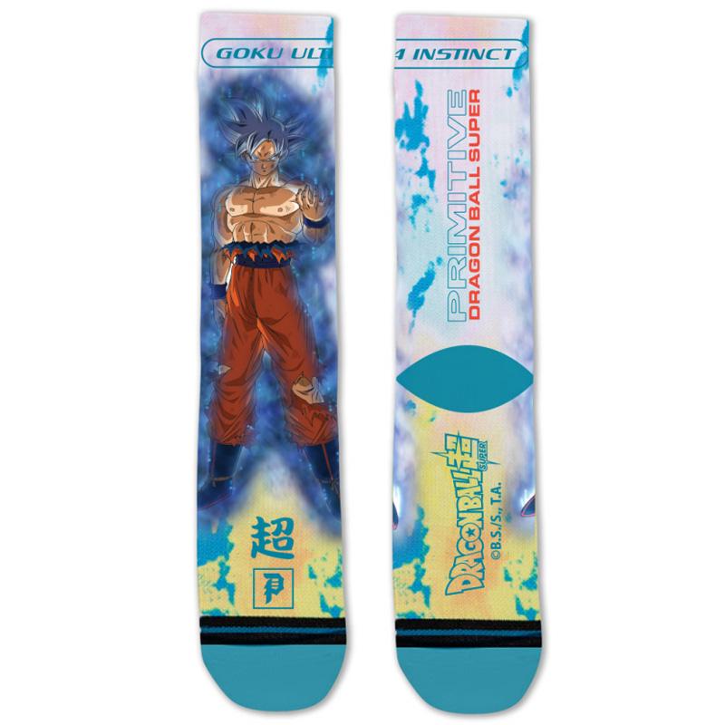 Primitive x DBS Goku Ultra Instinct Sock Teal
