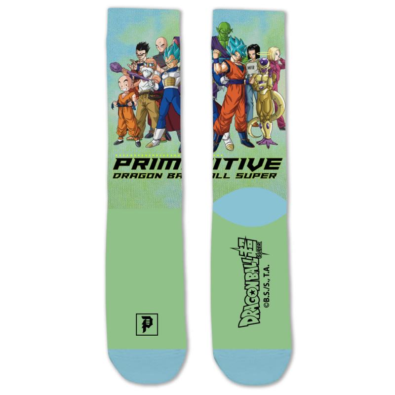 Primitive x DBS Universal Survival Sock Green