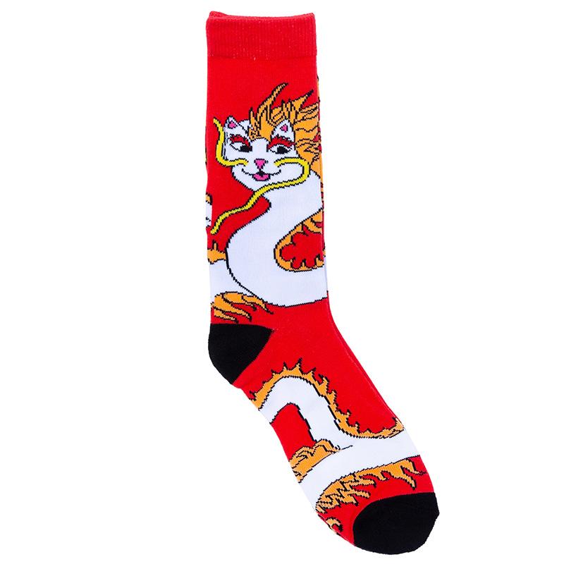 RIPNDIP Dragonerm Socks Red