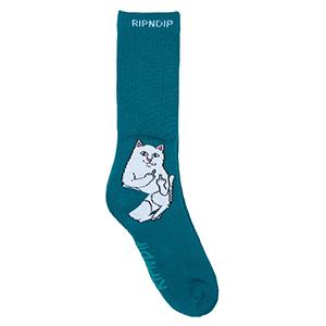 RIPNDIP Lord Nermal Socks Aqua