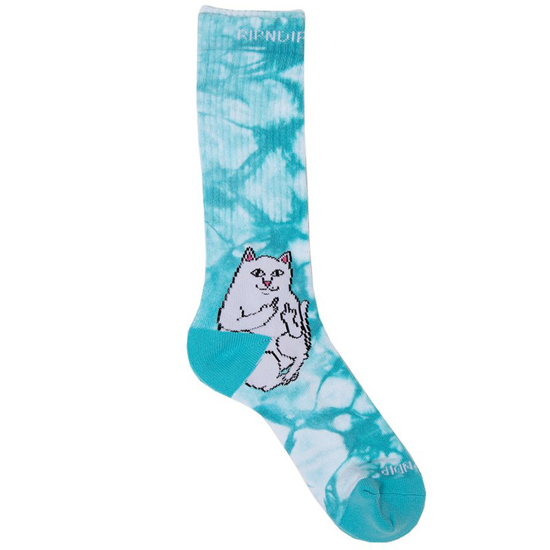 RIPNDIP Lord Nermal Socks Baby Blue Tie Dye