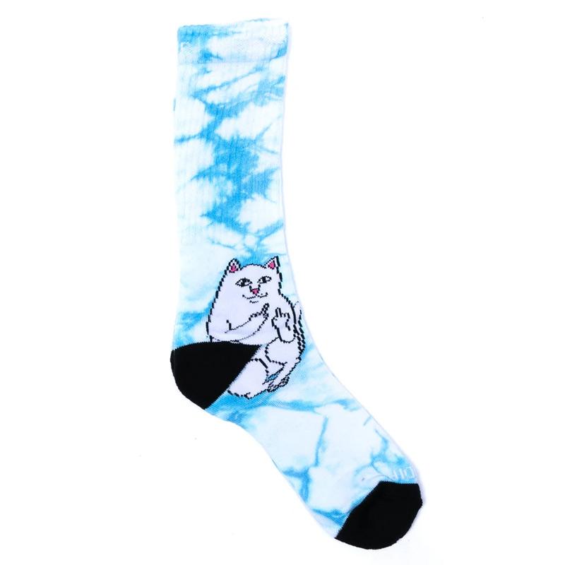 RIPNDIP Lord Nermal Socks Mint Tie Dye