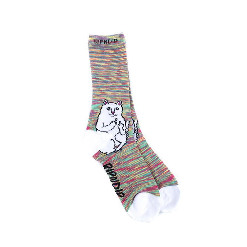 RIPNDIP Lord Nermal Socks Neon