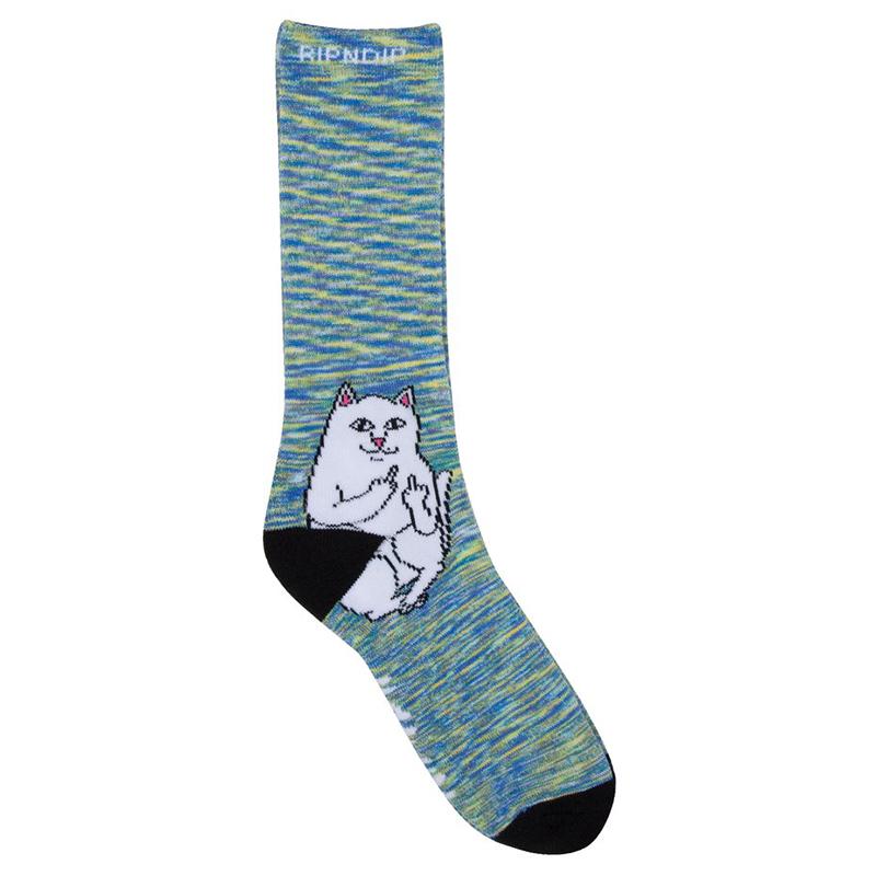 RIPNDIP Lord Nermal Socks Space Dye