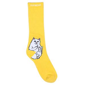 RIPNDIP Lord Nermal Socks Yellow