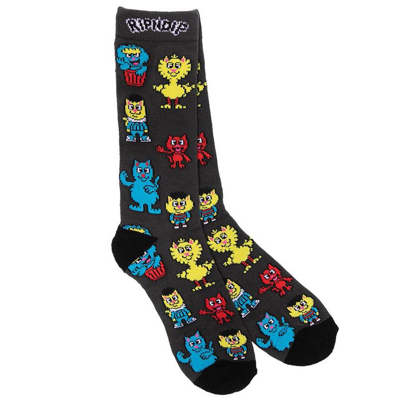 RIPNDIP Nerm Street Socks Black