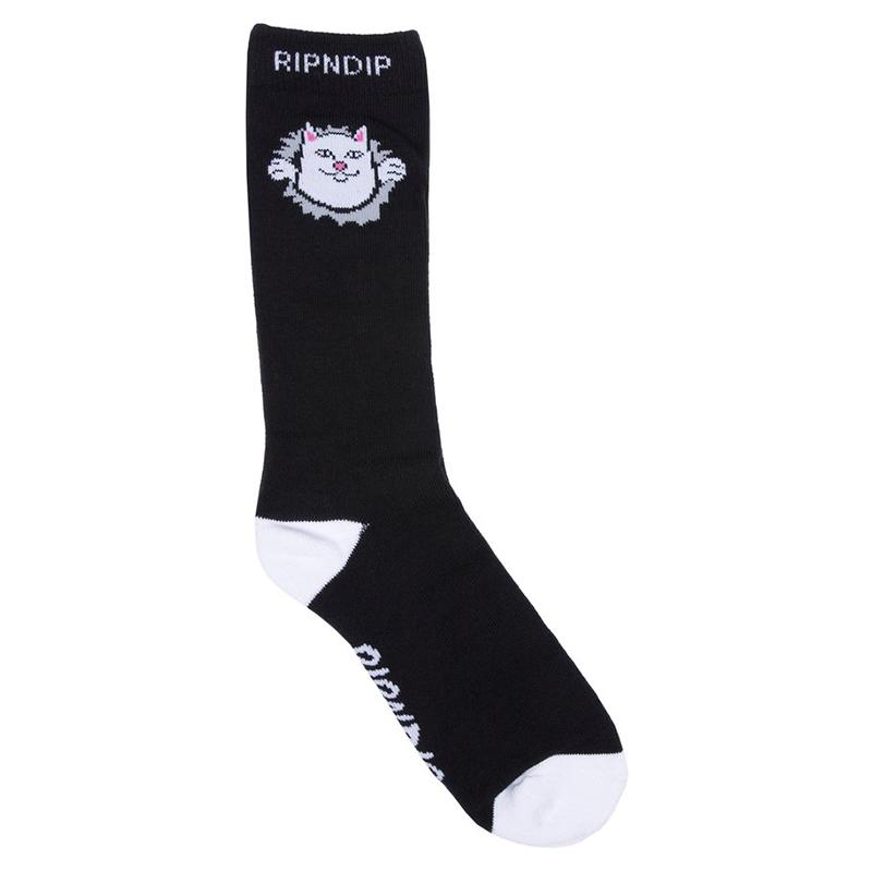 RIPNDIP Nermamaniac Socks Black