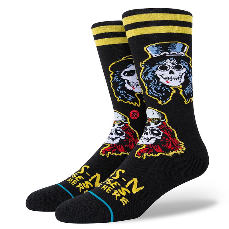 Stance Guns N Roses Appetite Socks Black