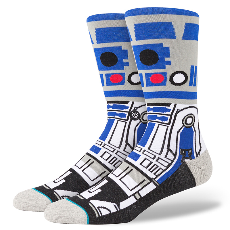 Stance Artoo Blue Socks Blue