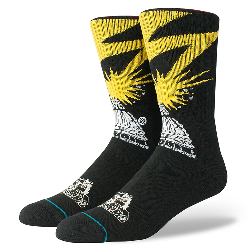 Stance Bad Brains Socks Black