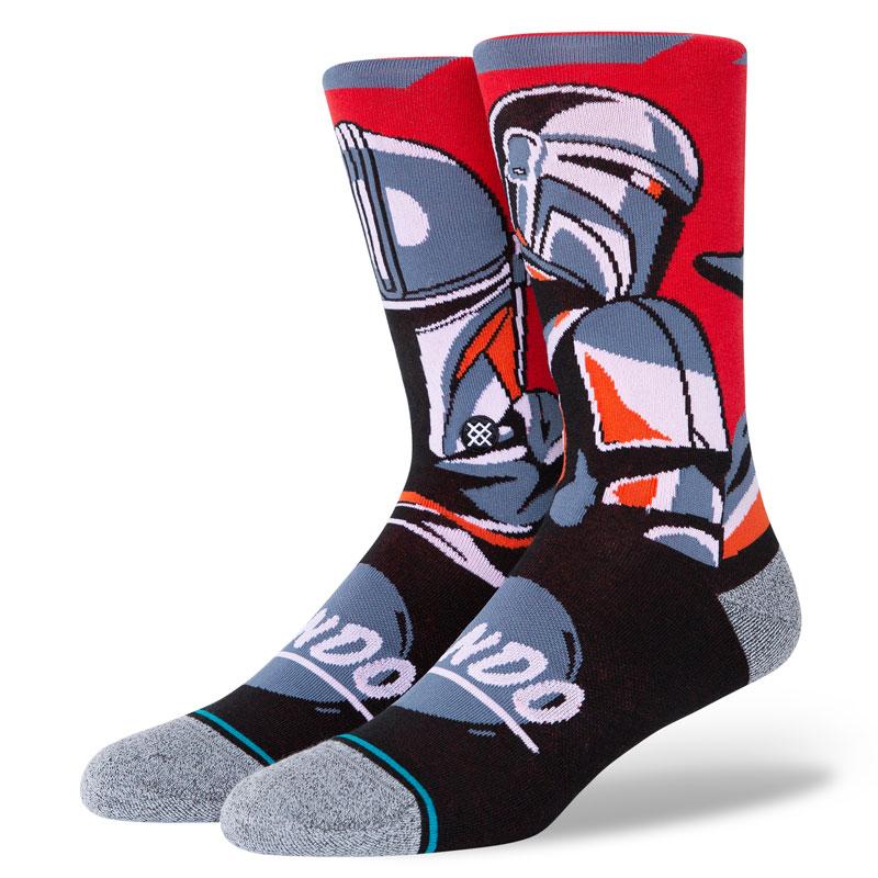 Stance Beskar Steel Socks Red