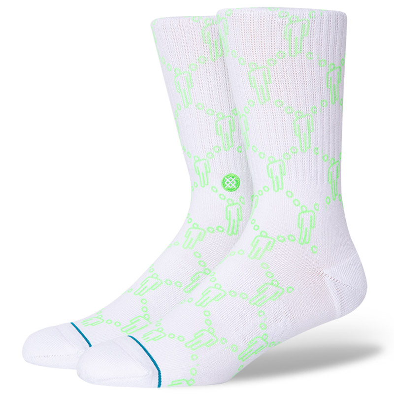 Stance X Billie Eilish Blohsh Socks White