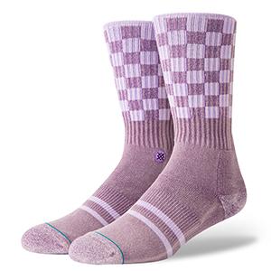 Stance Check Me Out Socks Violet