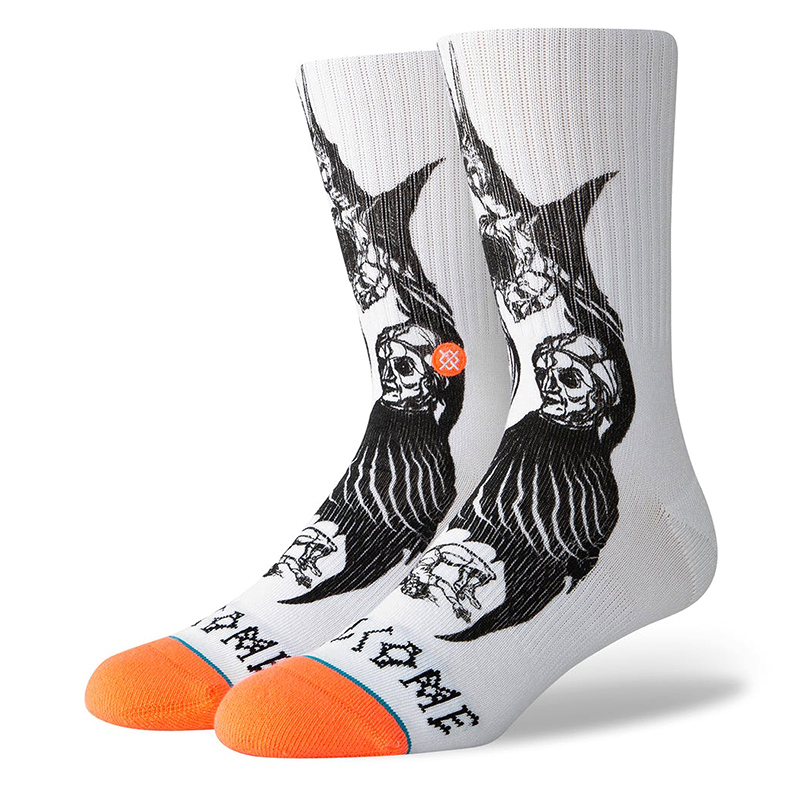 Stance x Welcome Darkness Socks White