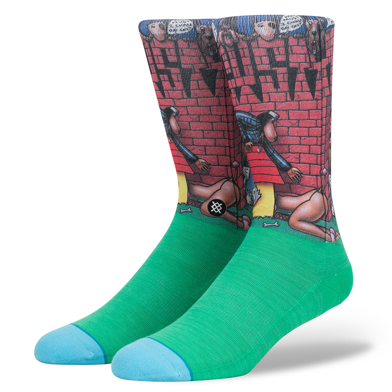 Stance Doggy Style Socks Green