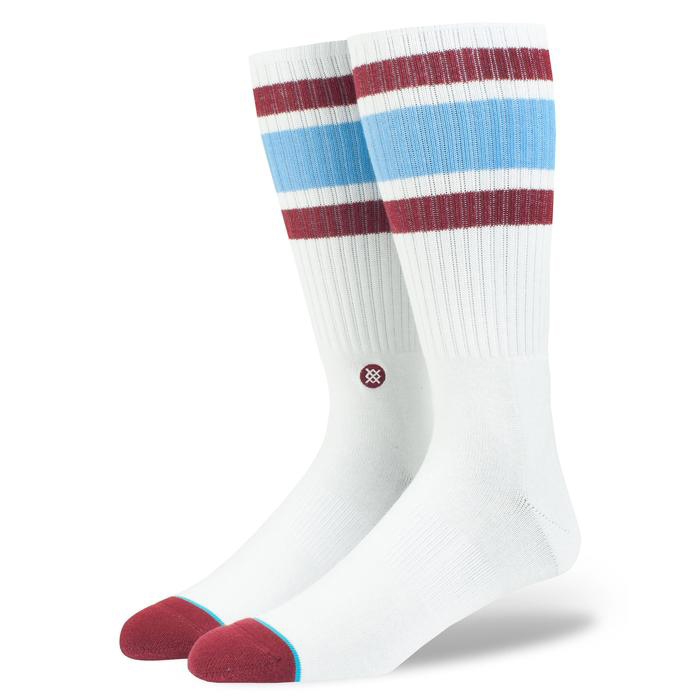 Stance Downhill M Crew Socks Red