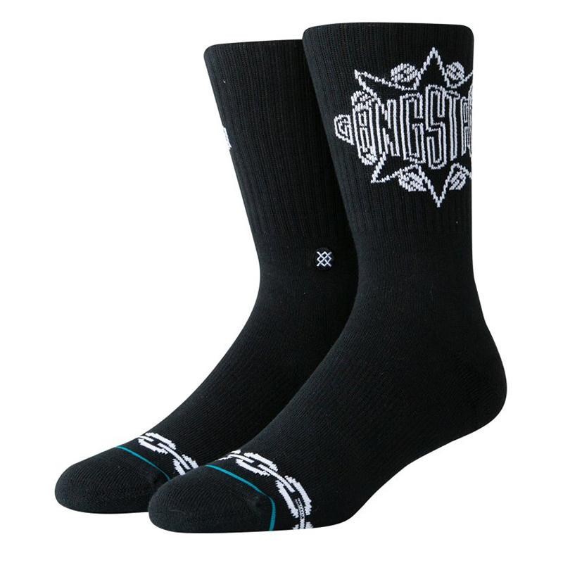 Stance Gangstarr Socks Black