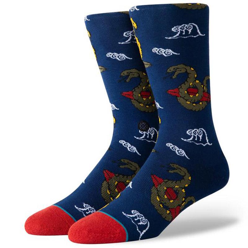 Stance Get Snaked Socks Navy
