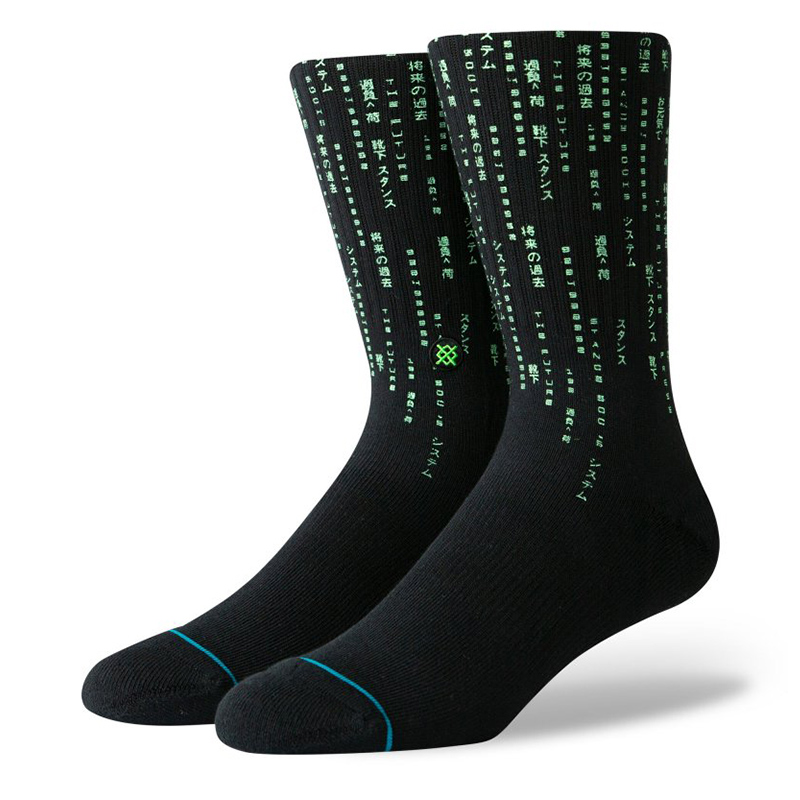 Stance Hacker Socks Black