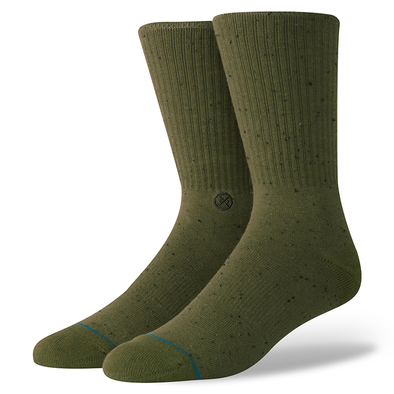 Stance Icon 2 Socks Olive